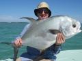 A nice permit taken off Big Pine Key