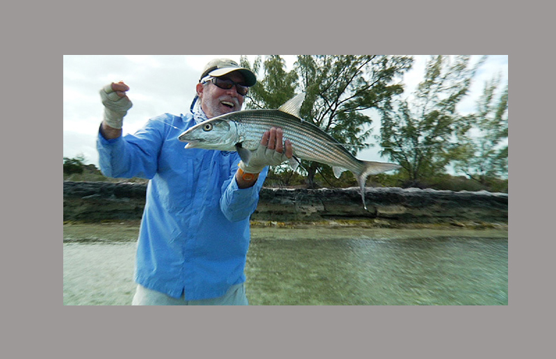 A very large bonefish, Black Fly Lodge, Abaco