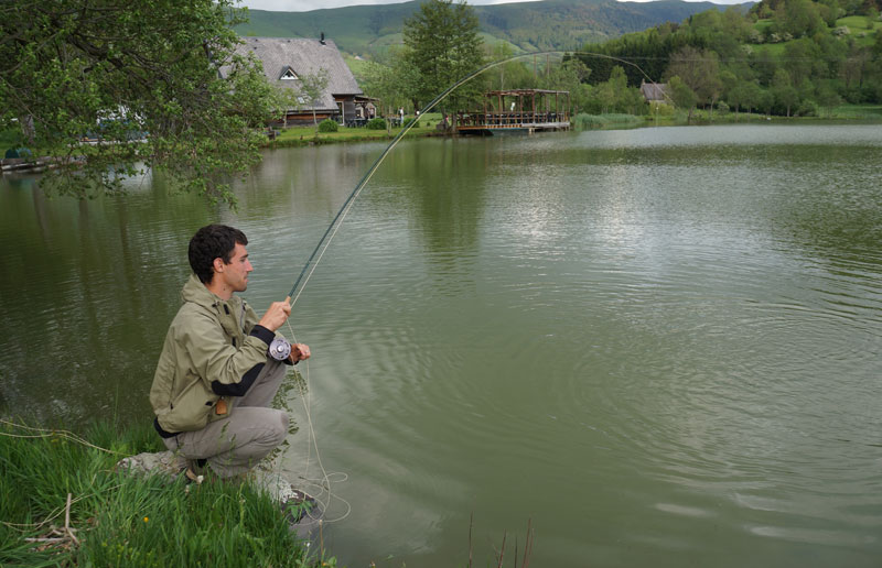 Lac des Cascades, Cantal