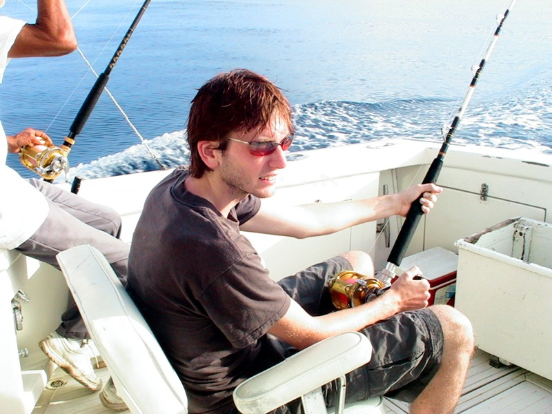Deep-sea fishing off Nassau