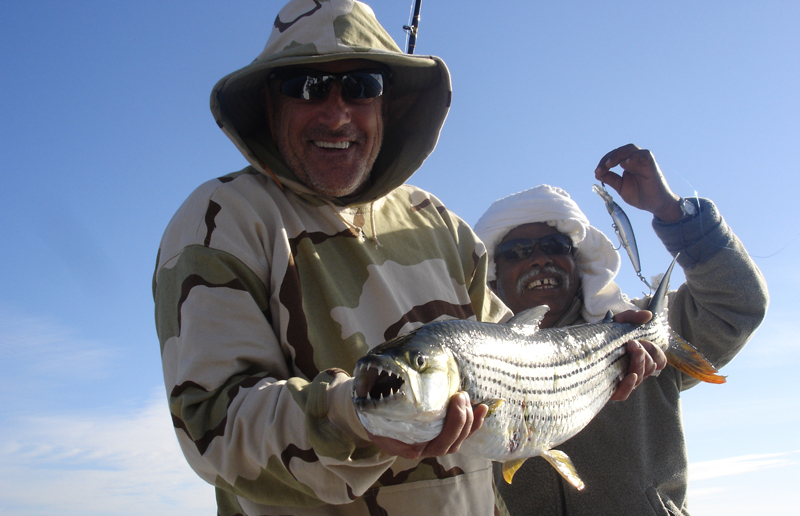 Toothy tigerfish are present in Lake Nasser too