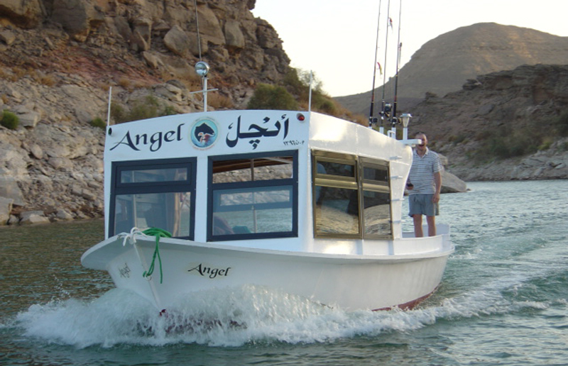 One of the Nile Perch Heaven boats