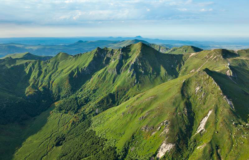 Massif du Sancy (Photo: Pierre Soissons)