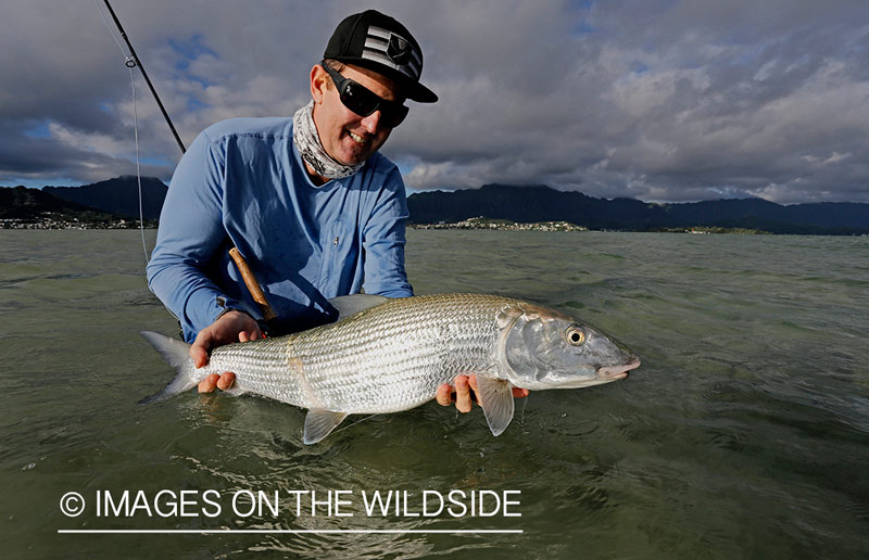 Bonefish hawaii with captain rick lee oahu hawaii for Fishing charters oahu