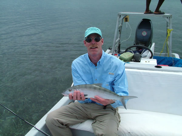 A big Robert\'s Grove bonefish