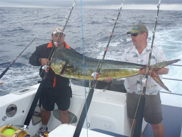 A South African dorado caught with McFire Charters