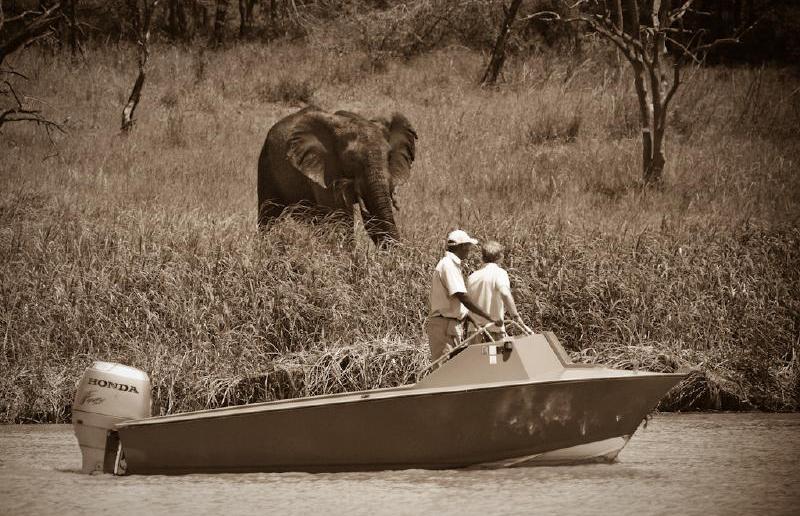 Fishing in the shadow of giants: Shayamoya Lodge
