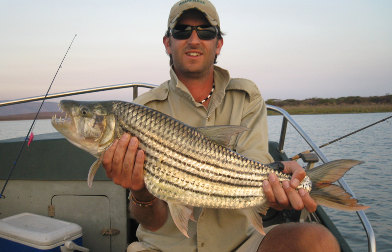 Tigerfishing at Shayamoya Lodge
