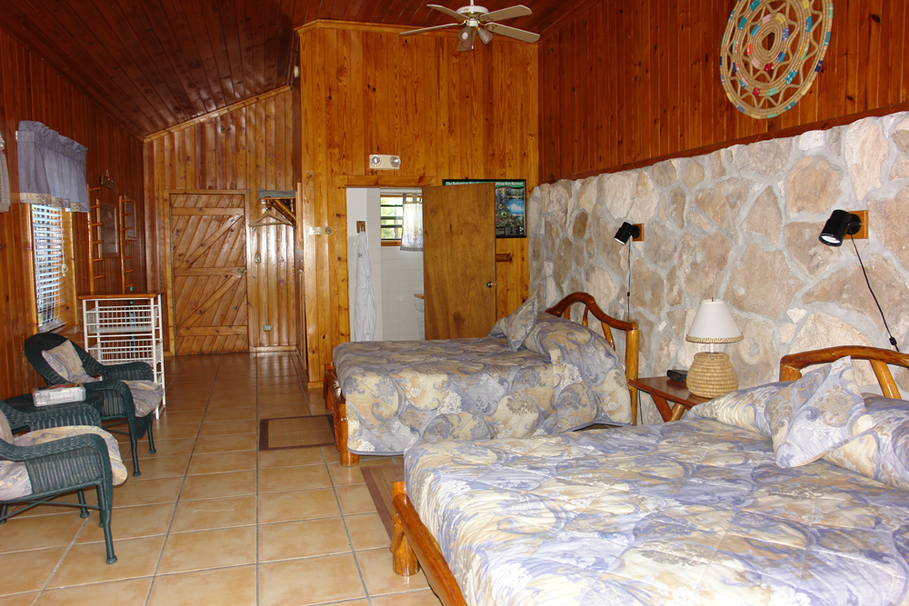 Twin room, Stafford Creek