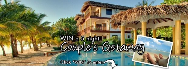 Win a Holiday in Belize courtesy of The Inn at Robert's Grove