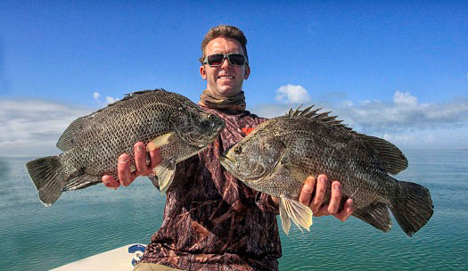 Upper Keys Fishing Report with Capt. Rick Stanczyk (Jan 4, 2013)