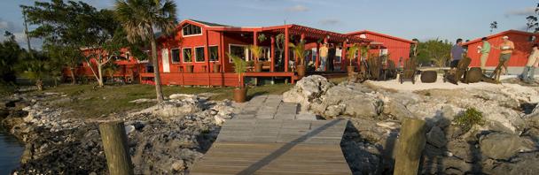 Fish for free at Abaco Lodge, Bahamas