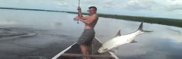 Video goodness: fly-fishing for tarpon and dorado in Angola