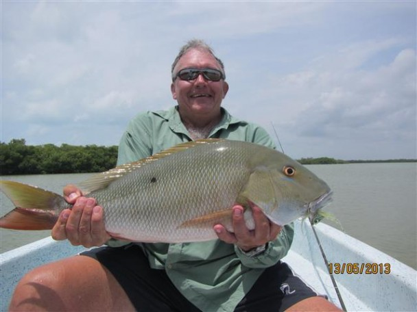 Ascension Bay Fishing Report with Captain Greg Rahe (Aug 2013)