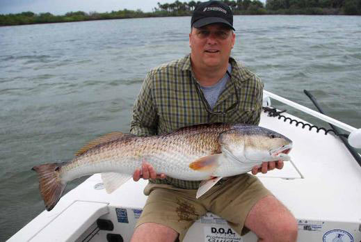 Mosquito Lagoon Fishing Report, Apr 10 2013