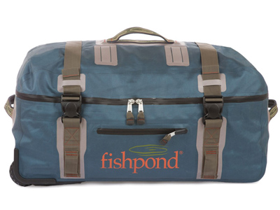 Fishipedia Top 5: Fishing Travel Bags - Fishpond Westwater Large Rolling Duffel