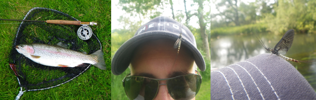 Mayfly Magic on the Kennet