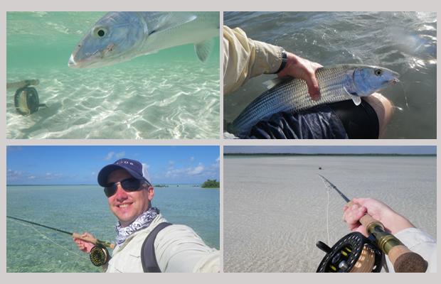 DIY bonefishing at Mount Pleasant Lodge, Andros Island, Bahamas