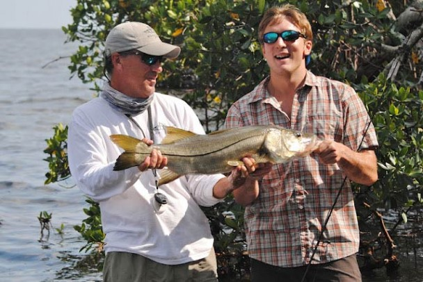 The view from... West Florida (May 2012): Big snook & rolling tarpon
