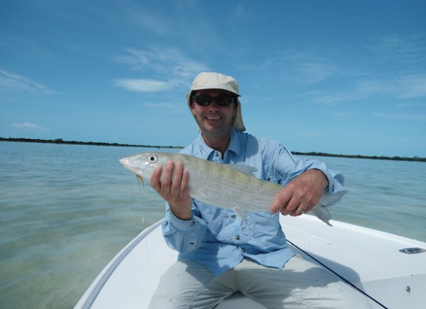 Fishipedia Report: Bonefishing on Mangrove Cay, Andros, Bahamas