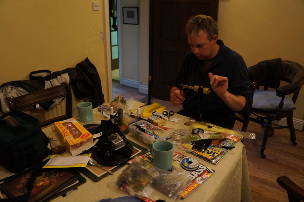 Ireland bass fishing report: the master at work