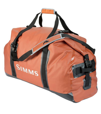Fishipedia Top 5: Fishing Travel Bags - Simms Dry Creek Duffel