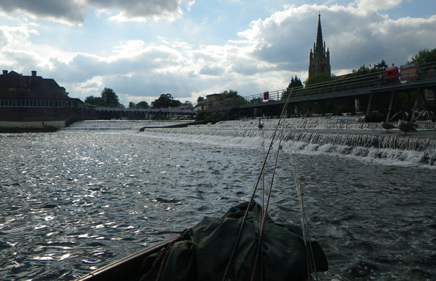 River Thames - pike on the fly