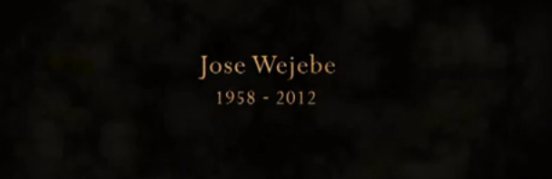 Video Goodness: Jose Wejebe Tribute Show