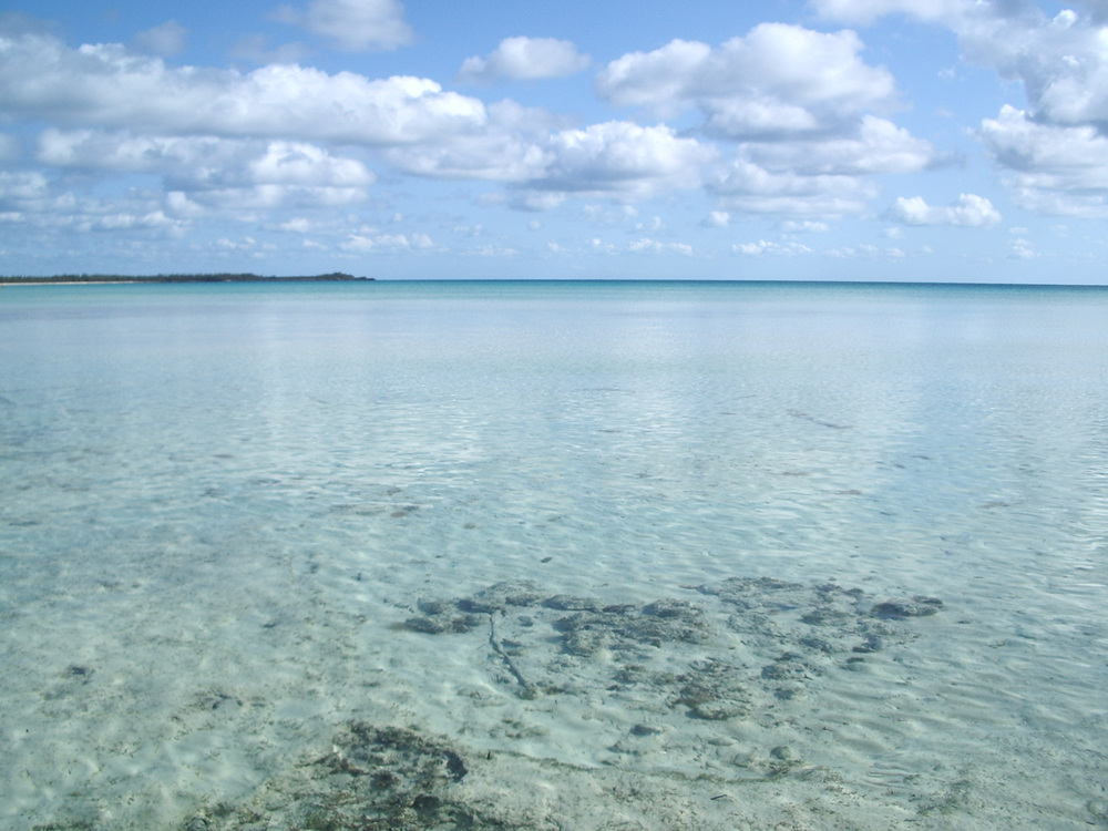 One of Eleuthera\'s many flats