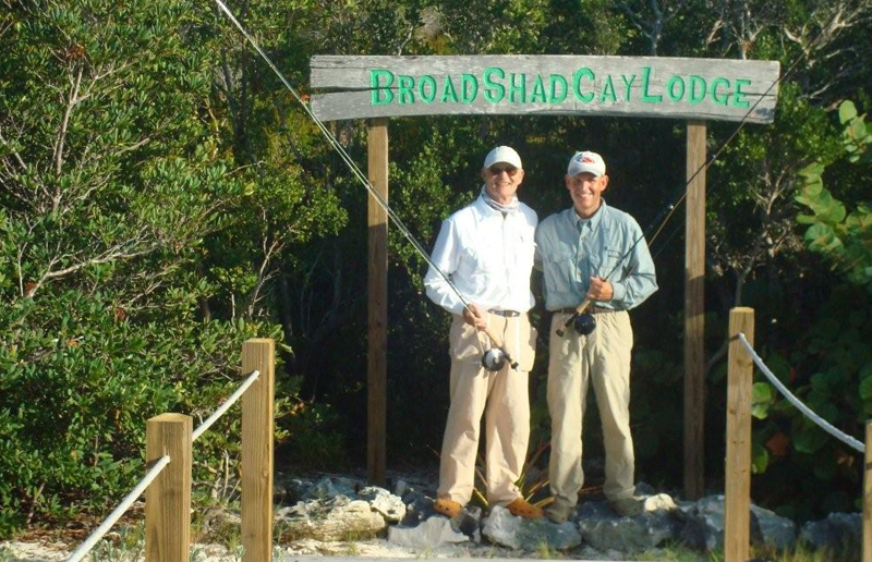 Broad Shad Cay Lodge, home of the happy angler