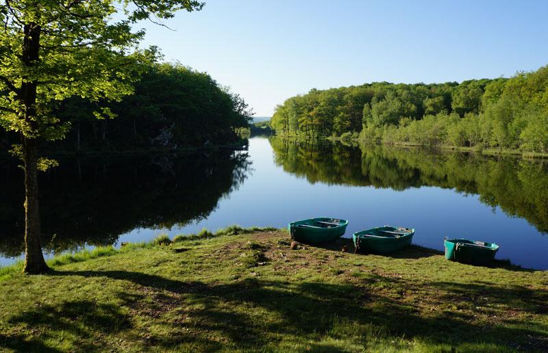 Lac du Roussillou, Cantal