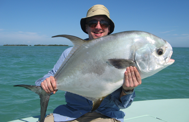 A nice permit taken off Big Pine Key