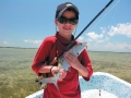 A bonefish made this young pescador\'s day