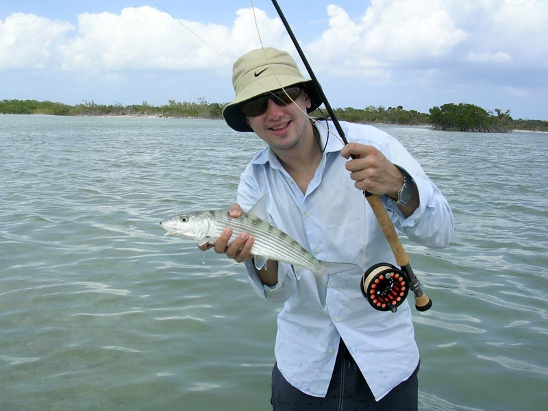An Ascension Bay bonefish