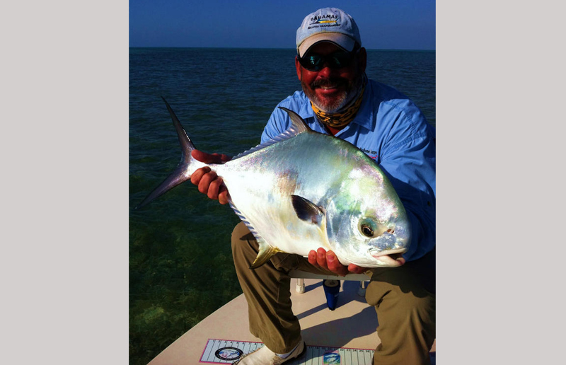 Captain Derren\'s favorite: the permit