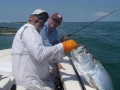 Captain Derren and a huge Bahia Honda tarpon