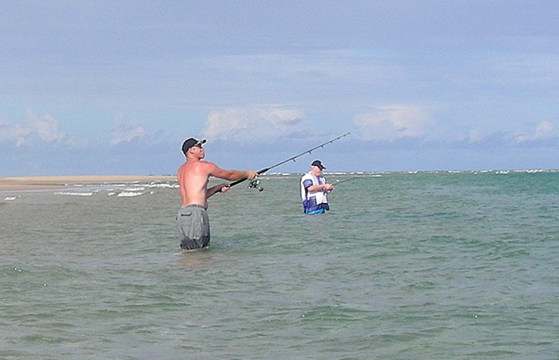 Mozambique offers superb surf fishing
