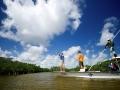 Heading into the mangroves