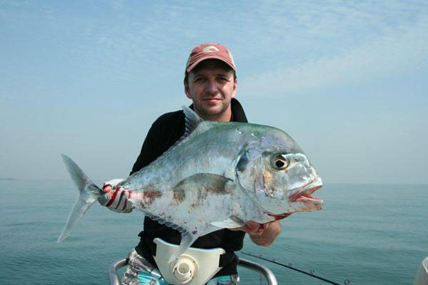 African pompano (Salty Dog Game Fishing, Guinea-Bissau)