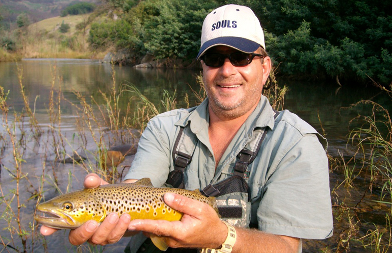 Trout & about with Nikao Fishing Adventures