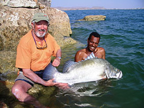 John Wilson on an African Angler adventure
