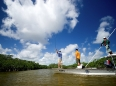 Fly-fishing the back country, Ascension Bay